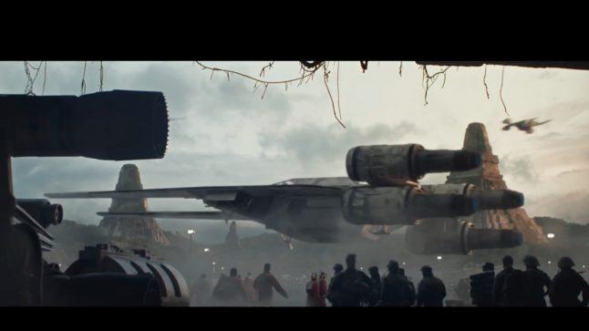 Designer diz que 781 versões da nave U-wing foram feitas