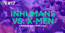 Capa Variante 17 - Inhumans vs. X-Men