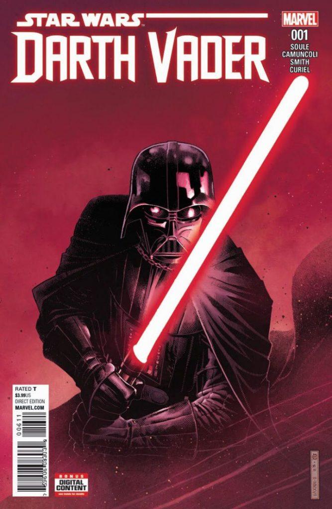 Darth Vader ganhará nova série mensal pela Marvel