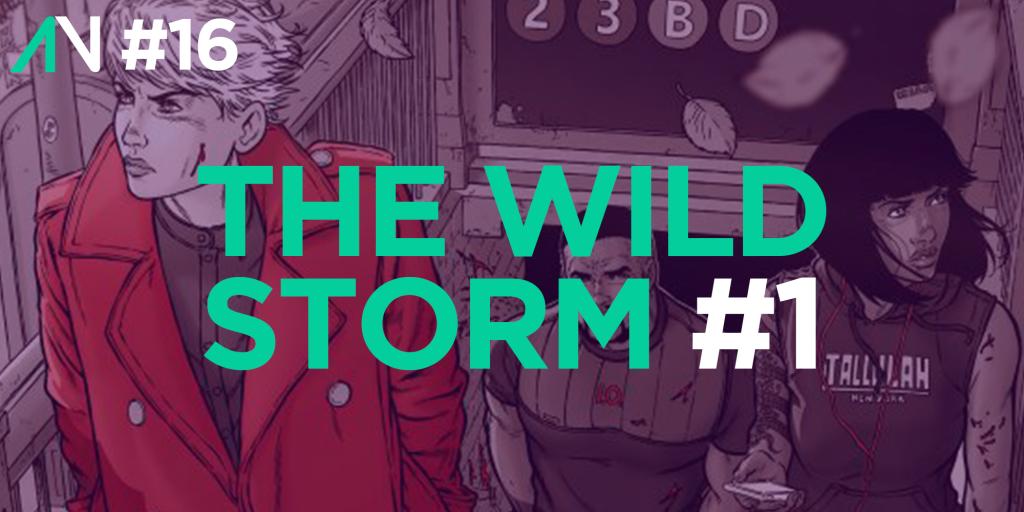 Capa Variante 16 – The Wild Storm 1
