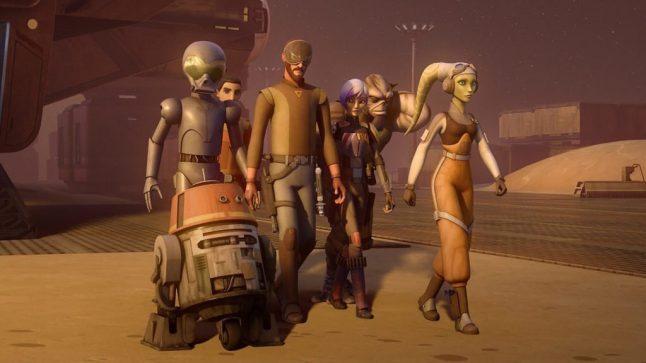 Star Wars Rebels é renovada para quarta temporada
