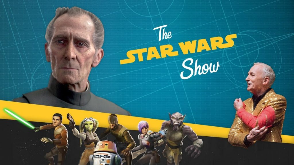 Re-creating Tarkin & Leia in Rogue One, Plus Star Wars Trivia…ON A ROLLERCOASTER!