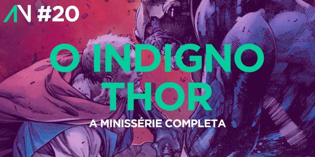 Capa Variante 20 – O Indigno Thor