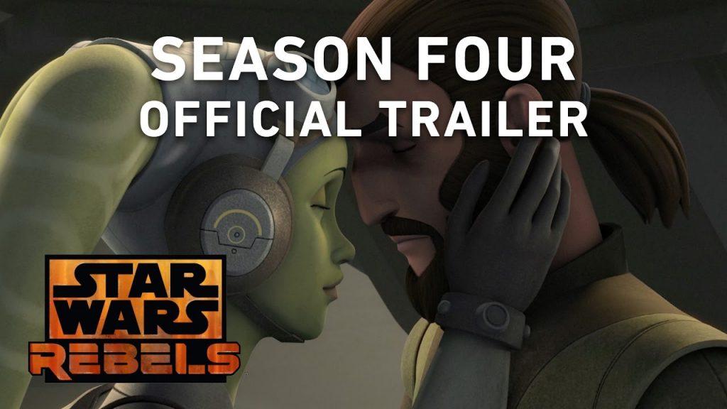 Trailer oficial da 4ª temporada de Star Wars Rebels