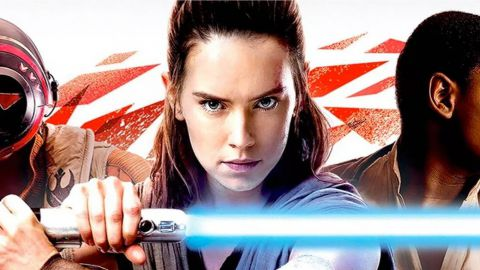Imagem promocional mostra os novos figurinos de Rey e Kylo Ren
