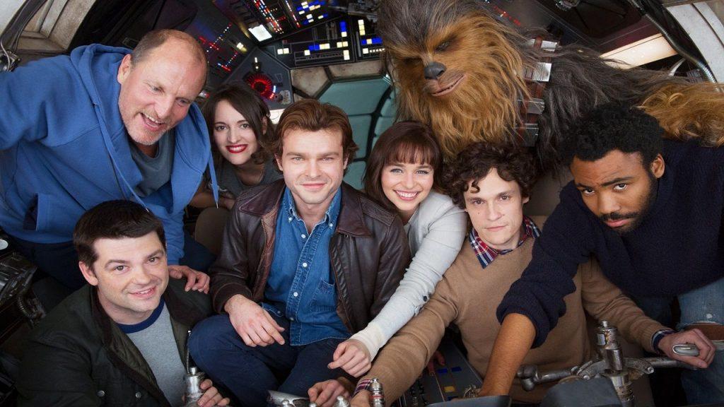 É revelado o possível nome de dois personagens importantes em Han Solo