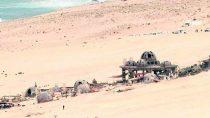 Imagem de bastidor mostra planeta de origem de Han Solo