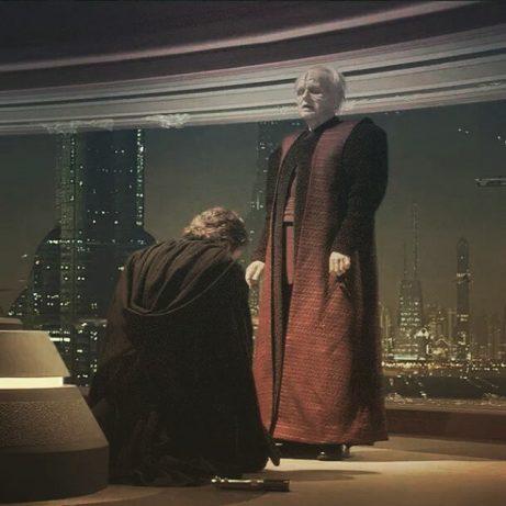 Por que Palpatine escolheu o nome DARTH VADER para Anakin?