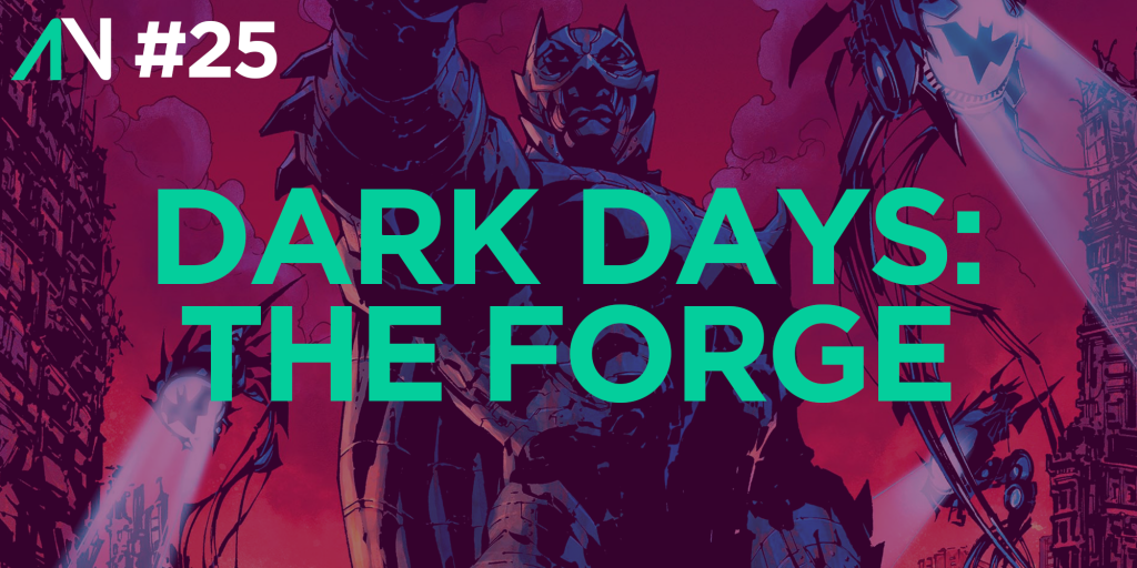 Capa Variante 25 - Dark Days: The Forge