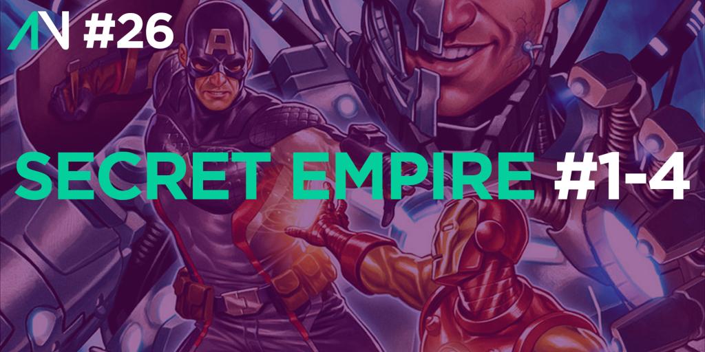 Capa Variante 26 – Secret Empire 1-4
