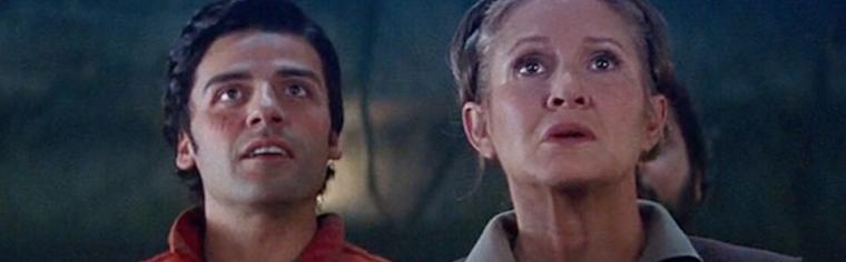 Oscar Isaac diz que tomou 27 tapas na cara de Carrie Fisher