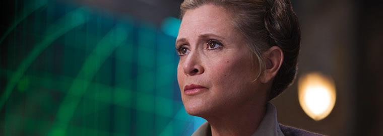 Carrie Fisher seria importante no Episódio IX, diz diretor