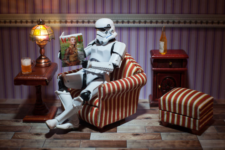 Star Wars: A vida secreta dos personagens vista por um fotógrafo