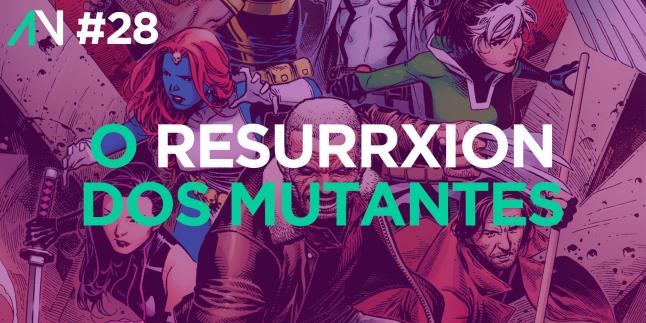 Capa Variante 28 – O ResurrXion dos mutantes
