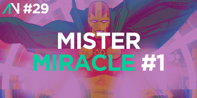 Capa Variante 29 – Mister Miracle 1