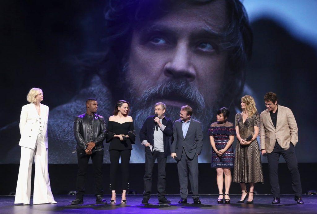 Assista aos melhores momentos do painel de Os Últimos Jedi na D23 2017