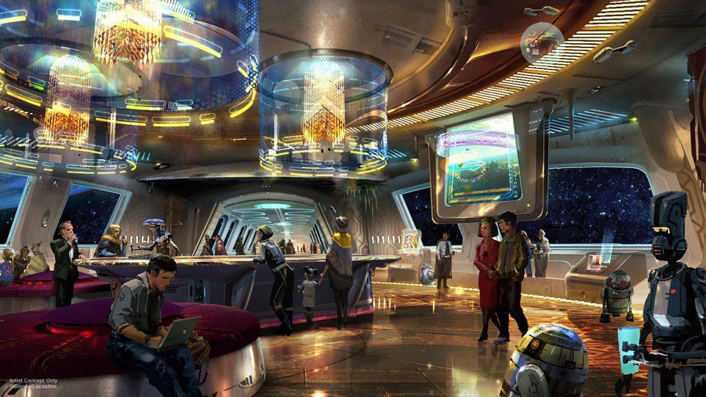 Disney vai ganhar hotel de Star Wars