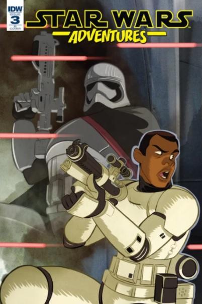 HQ mostrará época de Finn como Stormtrooper