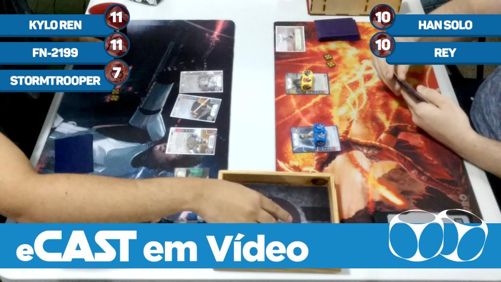 eCast em Vídeo: Final | Torneio Loja D6 - Jul/17 | Gui Fonseca vs. Uiberon Araújo