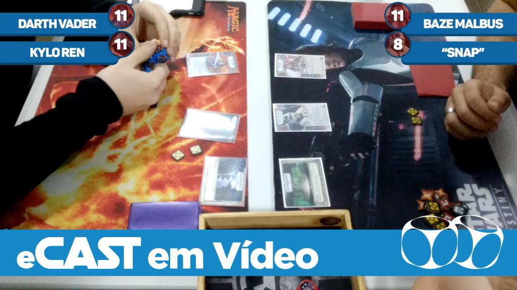 eCast em Vídeo: Final | Torneio Loja D6 - Set/17 | Uiberon Araújo vs. Thalys Wanderley