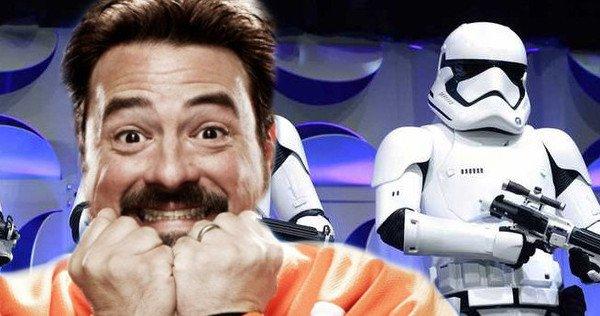 Notórios fãs de Star Wars: Como Kevin Smith se tornou um dos mais célebres fãs da Saga. E saiba o que ele pensa das prequels atualmente