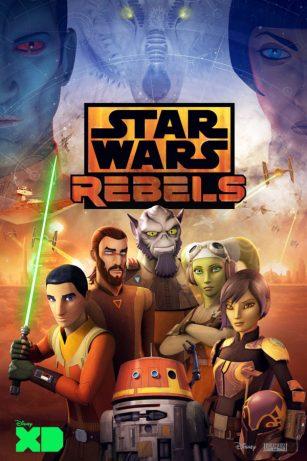4ª temporada de Rebels ganha pôster promocional