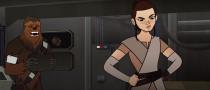 Rey salva a Millennium Falcon em novo curta