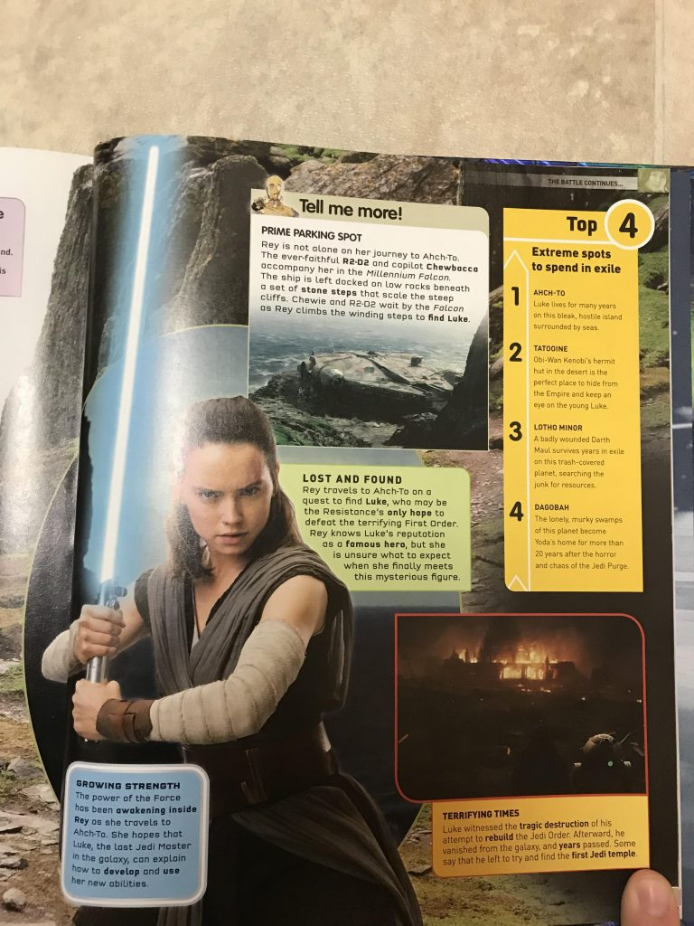 Passado de Luke e poderes de Snoke são detalhados em nova revista