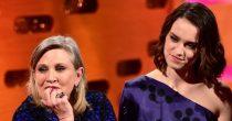 Daisy Ridley diz que Carrie Fisher lhe deu conselhos amorosos no set