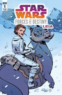 HQ focada em heroínas da saga revela capas com Leia, Rey e Padmé