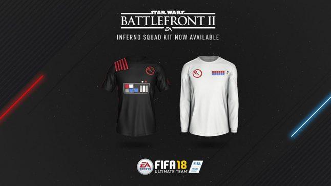 EA lança uniforme inspirado em Battlefront II para o FIFA 18