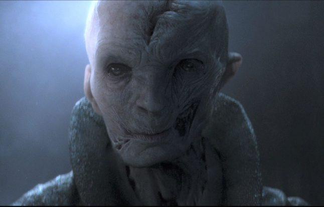 Andy Serkis confirma que Snoke é inspirado em Hugh Hefner