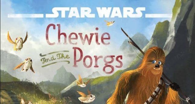 Livro infantil mostrará amizade de Chewbacca com os Porgs