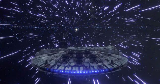 Este estúdio indie tentou criar um jogo de combate de naves de Star Wars