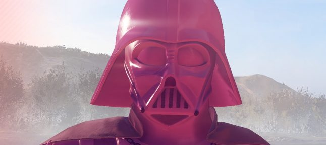 Mod adiciona Darth Vader rosa como crítica à EA