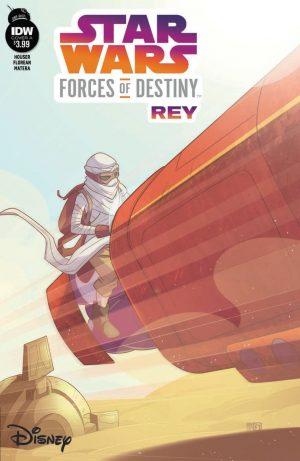 Rey enfrenta monstro no deserto em primeiras imagens da HQ Forças do Destino