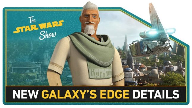 New Solo Poster, Actor Clancy Brown Talks Star Wars Rebels, and More!