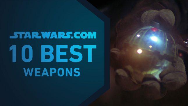 Best Star Wars Weapons | The StarWars.com 10