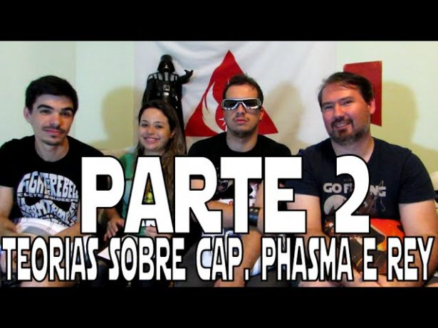 Episódio 4 – Parte 02 – Teorias sobre Cap Phasma e Rey [CONTÉM SPOILER]