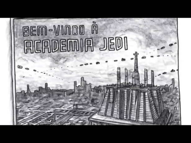 Booktrailer | Academia Jedi, de Jeffrey Brown