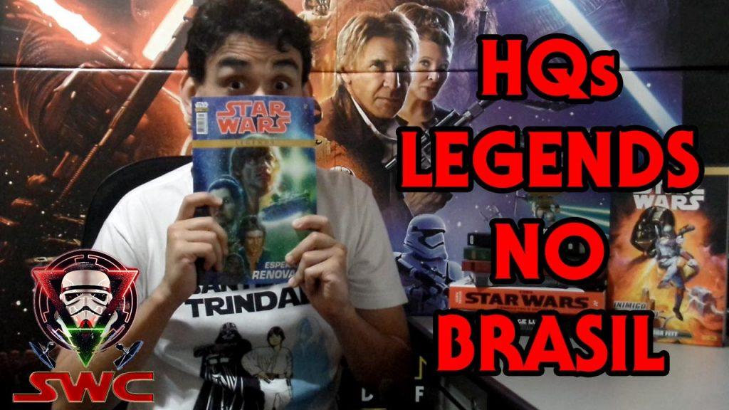 SWC - HQs Legends no Brasil