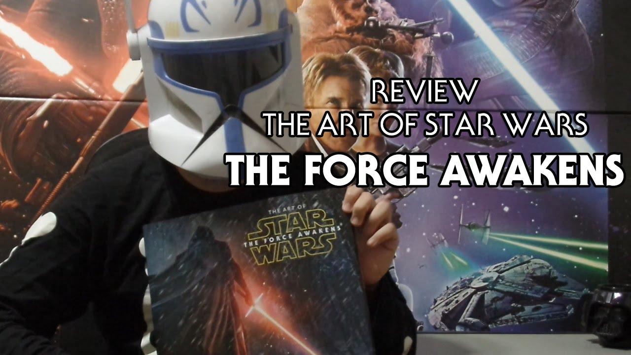 """Resumo: PROMOÇÃO JEDICENTER THE ART OF TFA: Data Publicação: 13/05/2016 Link: SWC – Review: """"The Art of Star Wars: The Force Awakens"""""""