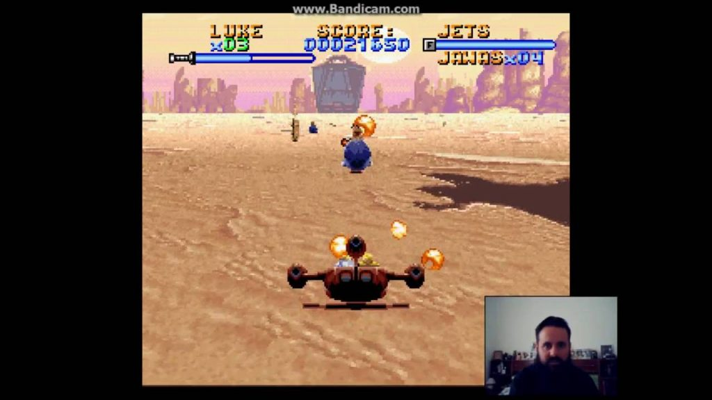 Super Star Wars – Gameplay 2 – Head Towards Sandcrawler