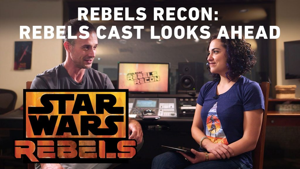 Rebels Recon: The Star Wars Rebels Cast Looks Ahead to Season Three | Star Wars Rebels