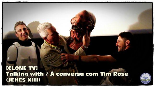 [CLONE TV] Talking with / À conversa com Tim Rose (JEHES XIII)