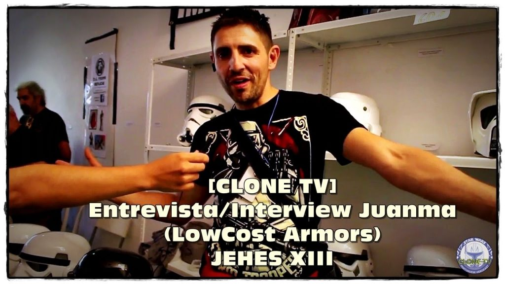 [CLONE TV] Entrevista/Interview Juanma (LowCost Armors) – JEHES XIII