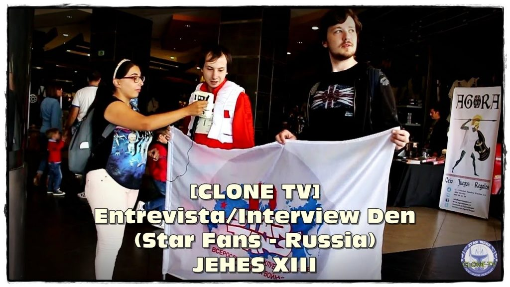 [CLONE TV] Entrevista/Interview Den (Star Fans – Russia) – JEHES XIII