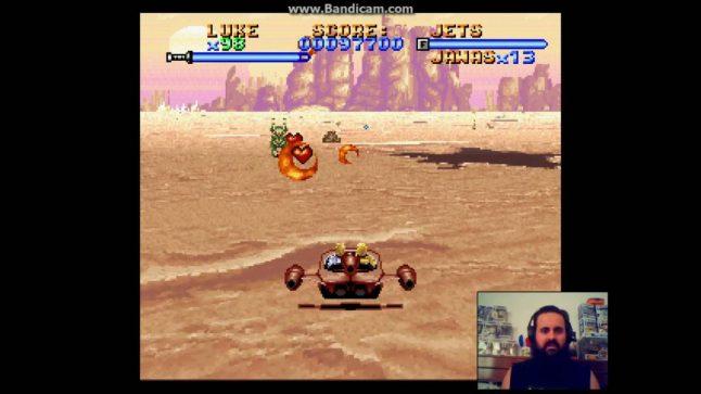Super Star Wars – Gameplay 7 – Landspeeder 2